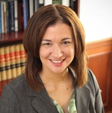 Giovanna Tiberii Weller professional attorney profile picture. Practicing in appeals, employment litigation, labor & employment, litigation, products liability, education law.